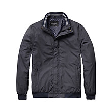 Buy Scotch & Soda Summer Bomber Jacket, Blue Online at johnlewis.com