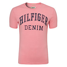 Buy Hilfiger Denim Federer Logo T-Shirt Online at johnlewis.com