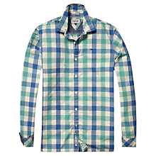 Buy Tommy Hilfiger Nico Check Shirt, Bright Cobalt/Multi Blue Online at johnlewis.com
