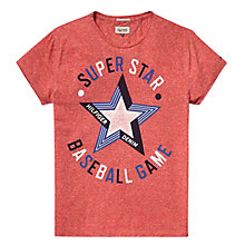 Buy Hilfiger Denim Fergie Star Printed T-Shirt, Formula One Online at johnlewis.com
