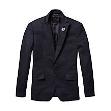 Buy Scotch & Soda Summer Dress Blazer, Navy Online at johnlewis.com