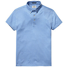 Buy Scotch & Soda Mini Dot Polo Shirt, Blue Online at johnlewis.com
