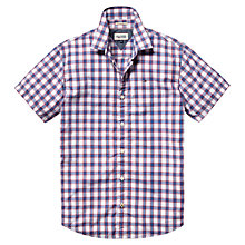 Buy Hilfiger Denim Norris Check Shirt, Classic White/Multi Online at johnlewis.com