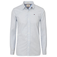 Buy Hilfiger Denim Thomas Striped Cotton Shirt, Bright Cobalt Stripes Online at johnlewis.com