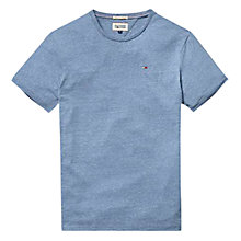 Buy Tommy Hilfiger Hanson Crew Neck T-Shirt, Light Blue Online at johnlewis.com