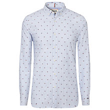 Buy Tommy Hilfiger Zane Embroidered Flag Stripe Shirt, Skyway Online at johnlewis.com