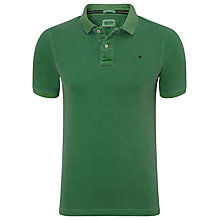 Buy Hilfiger Denim Pilot Short Sleeve Polo Shirt, Juniper Online at johnlewis.com