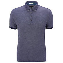 Buy Scotch & Soda Button Down Polo Shirt Online at johnlewis.com