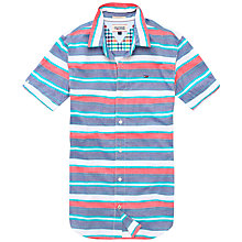 Buy Hilfiger Denim Naldo Stripe Shirt, Multi Online at johnlewis.com
