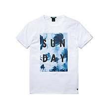 Buy Scotch & Soda Print Sunday T-Shirt Online at johnlewis.com