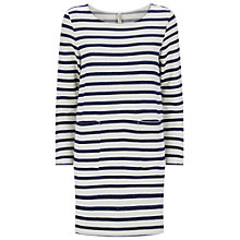 Buy People Tree Sorrell Tunic Dress, Navy Online at johnlewis.com