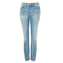 "Buy Levi's Revel Skinny High-rise Jeans 30"", Pressed Dark Online at johnlewis.com"