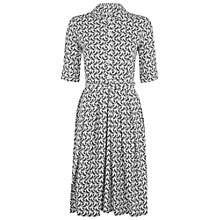 Buy People Tree Orla Kiely Bird Watch Shirt Dress, Grey Online at johnlewis.com