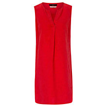 Buy Oui Sleeveless Tunic Dress, Red Online at johnlewis.com