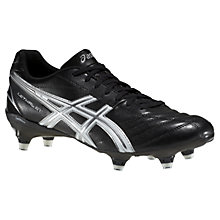 Buy Asics Lethal ST Men's Rugby Boots, Black/White Online at johnlewis.com