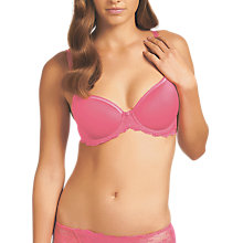 Buy Wacoal Seduction Spacer Plunge Bra, Honeysuckle Online at johnlewis.com