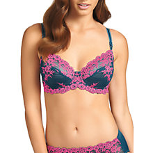 Buy Wacoal Embrace Lace Briefs, Legion Blue / Lilac Rose Online at johnlewis.com