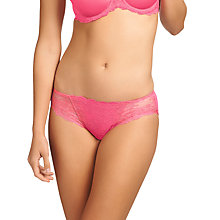 Buy Wacoal Seduction Lace Briefs, Honeysuckle Online at johnlewis.com