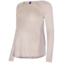 Buy Séraphine Serenity Nursing Jumper, Oatmeal Online at johnlewis.com