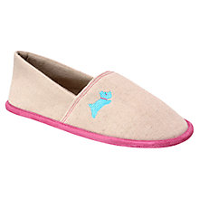Buy Radley Albany Street Mule Slippers, Natural Online at johnlewis.com