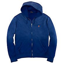 Buy Polo Ralph Lauren Full Zip Cotton Blend Hoodie Online at johnlewis.com