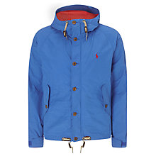 Buy Polo Ralph Lauren Treeline Anorak, Royal Online at johnlewis.com