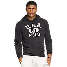 Buy Polo Ralph Lauren Loft Fleece Hoodie Online at johnlewis.com