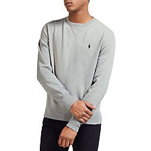 Buy Polo Ralph Lauren Crew Neck Sweatshirt Online at johnlewis.com