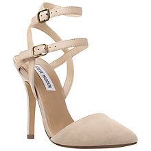 Buy Steve Madden Porttt Cross Strap Stiletto Courts Online at johnlewis.com