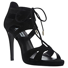 Buy Dune Morgan Lace-Up High Heel Sandals Online at johnlewis.com