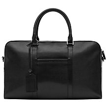 Buy Reiss Corbet 24 Hour Holdall, Black Online at johnlewis.com
