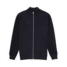 Buy Reiss Colorado Jersey Bomber Jacket, Navy Online at johnlewis.com