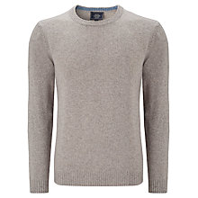 Buy John Lewis Merino Cashmere Crew Neck Jumper Online at johnlewis.com