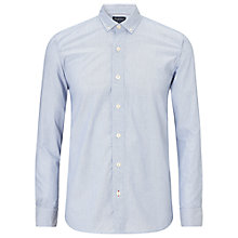 Buy JOHN LEWIS & Co. Fine Stripe Long Sleeve Shirt, Blue Online at johnlewis.com