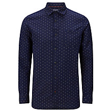 Buy JOHN LEWIS & Co. Charlock Dot Pattern Shirt, Indigo Online at johnlewis.com
