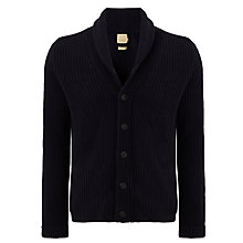 Buy JOHN LEWIS & Co. Shawl Neck Cardigan, Navy Online at johnlewis.com