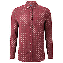 Buy JOHN LEWIS & Co. Ditsy Leaf Cotton Shirt Online at johnlewis.com