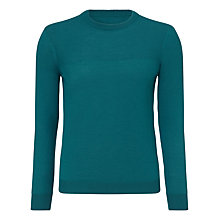 Buy Kin by John Lewis Moss Yoke Crew Neck Jumper Online at johnlewis.com