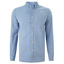 Buy John Lewis Carbon Finish Cotton Shirt Online at johnlewis.com