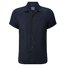 Buy JOHN LEWIS & Co. Linen Bowling Shirt Online at johnlewis.com