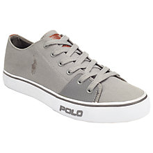Buy Polo Ralph Lauren Cantor Canvas Trainers Online at johnlewis.com