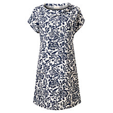 Buy East Calypso Bardot Linen Dress, Ink Online at johnlewis.com