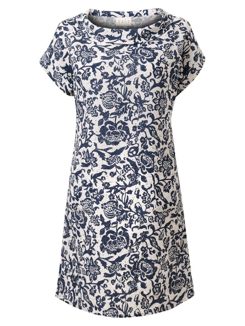 east calypso bardot linen dress ink, east, calypso, bardot, linen, dress, ink, xl|m|l|s, women, womens dresses, womens holiday shop, beach bound, 1765583