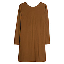 Buy Mango Decorative Strap Dress, Dark Beige Online at johnlewis.com