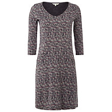 Buy White Stuff Tawny V-Neck Dress, Grey Salt Online at johnlewis.com