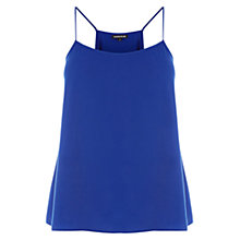 Buy Warehouse Plain Camisole, Bright Blue Online at johnlewis.com