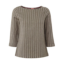 Buy White Stuff Dash Top, Grey Salt Online at johnlewis.com