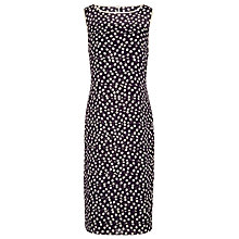 Buy Jacques Vert Chiffon Layered Dress, Black Online at johnlewis.com