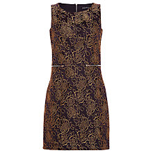 Buy Sugarhill Boutique Luella Dress, Black / Gold Online at johnlewis.com