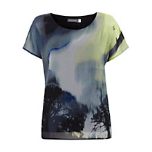 Buy Mint Velvet Francis Print T-Shirt, Multi Online at johnlewis.com